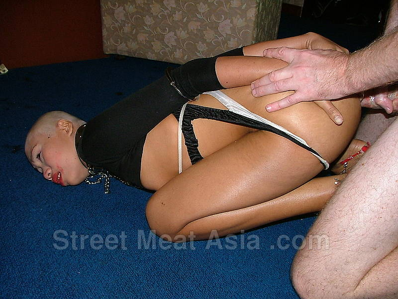 street anal Asian meat painful